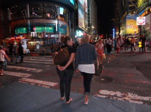 Christine and Alens in New York