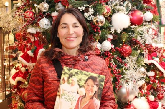 Maria Loggia, Tavola Mia, Book Signing