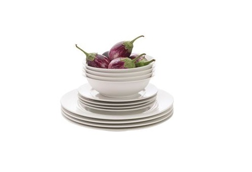 maxwell & williams, white dinner set, white dinnerware, sale