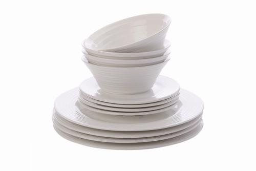 maxwell & williams, cirque dinner set, white dinnerware, sale