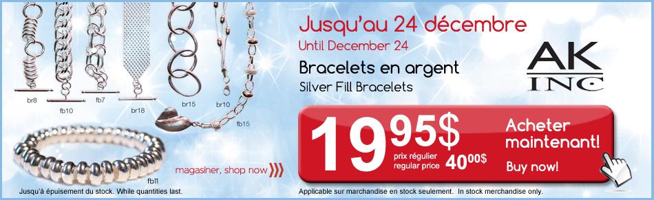 Silver Fill Bracelet Sale
