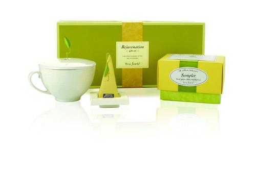 tea forte, rejuvenation gift set, valentine's day gift