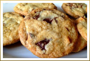 godiva chocolate chunk trio cookies