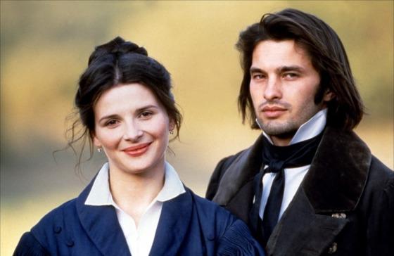 Juliette Binoche et Olivier Martinez, Le hussard sur le toit (1995)