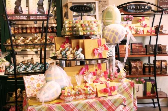 godiva easter chocolates