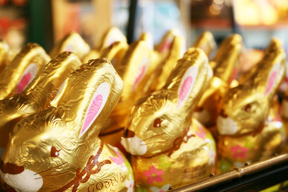 godiva milk chocolate bunnies