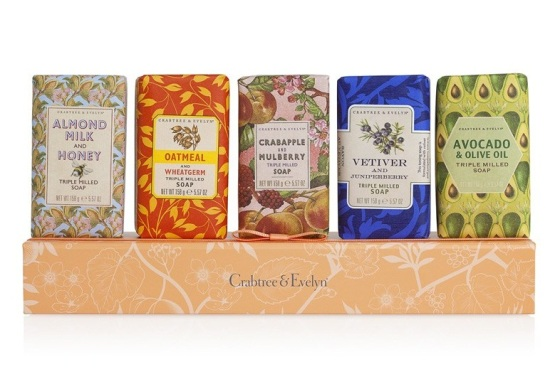 crabtree & evelyn heritage soaps