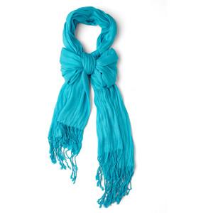 aqua crinkle in time scarf