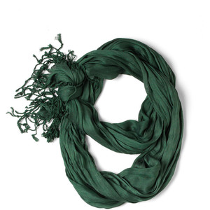 evergreen crinkle in time scarf