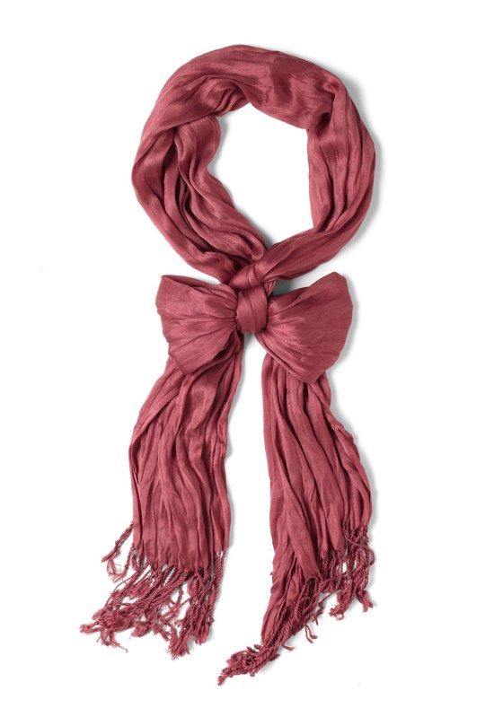rose crinkle in time scarf