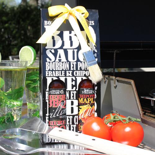 gourmet du village bbq sauce gift set