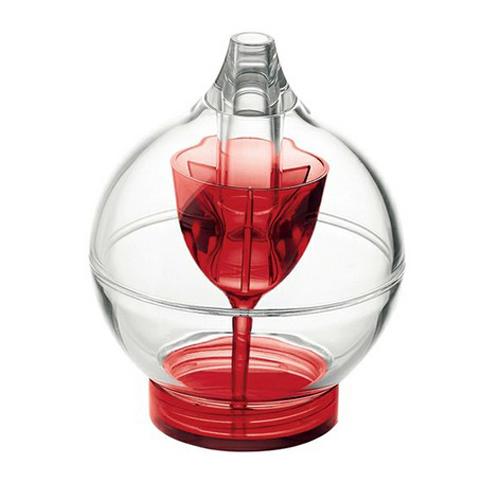 guzzini sugar dispenser red