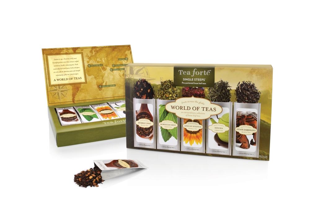Tea Forte World of Teas Sampler $15.95