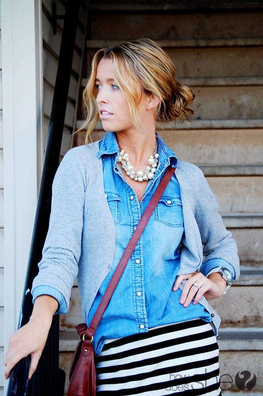 casual pearls, layered pearls