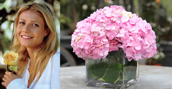 Flower Arranging by Vase on goop.com