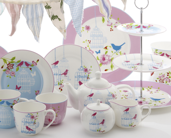 aviary tea service