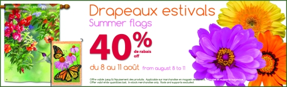 summer flags