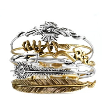 Alex and Ani Charm Bangles
