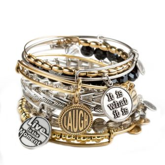 Alex and Ani Charm Bangles Words are powerful