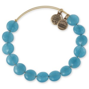 Aqua Sugar Rush Beaded Bangle