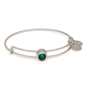 Emerald Love Sacred Stud Bangle