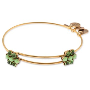 Sour Apple Sparkler Beaded Bangle
