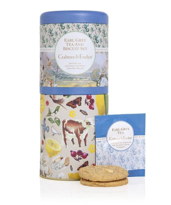 Crabtree & Evelyn Earl Grey Tea & Biscuit Tin