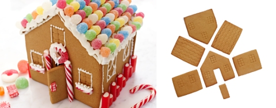 Ricardo Gingerbread House Cookie Cutters