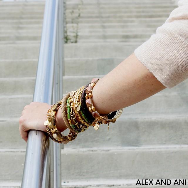 alex and ani, bangles, charm bangles