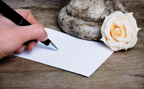 writing-a-note-on-a-blank-card
